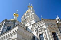 De kathedraal in Sebastopol royalty-vrije stock afbeeldingen