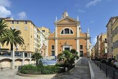 De Kathedraal van Ajaccio Stock Foto's