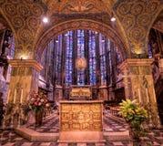 De Kathedraal van Aken, Duitsland Stock Fotografie