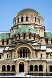 De kathedraal van Alexander Nevsky Royalty-vrije Stock Afbeeldingen