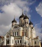 De Kathedraal van Alexander Nevsky's Stock Afbeeldingen