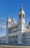 De Kathedraal van Almudena, Madrid Royalty-vrije Stock Foto's