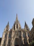 De Kathedraal van Barcelona Royalty-vrije Stock Fotografie