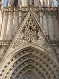 De Kathedraal van Barcelona stock fotografie