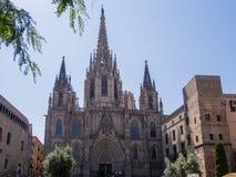 De kathedraal van Barcelona Royalty-vrije Stock Afbeelding