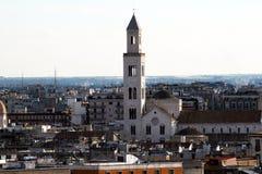 De kathedraal van Bari stock fotografie
