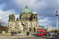 De Kathedraal van Berlijn Stock Fotografie
