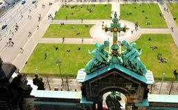 De Kathedraal van Berlijn (Berliner Dom) Stock Afbeelding