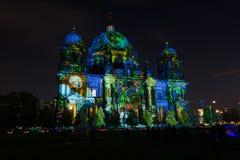 De Kathedraal van Berlijn (Berliner Dom) Stock Foto