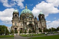 De Kathedraal van Berlijn (Berliner Dom), Berlijn, Duitsland Stock Foto's