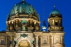 De Kathedraal van Berlijn, Duitsland Royalty-vrije Stock Afbeeldingen