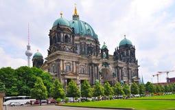 De Kathedraal van Berlijn, Duitsland Stock Foto's