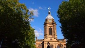 De Kathedraal van Birmingham, Engeland royalty-vrije stock foto's