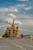 De kathedraal van Blazhennogo van Vasily Royalty-vrije Stock Foto's