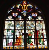 De Kathedraal van Bourges - Frankrijk stock afbeelding