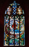 De Kathedraal van Bremen Venster, binnenlands van kerk, Duitsland Royalty-vrije Stock Afbeeldingen