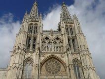 De Kathedraal van Burgos Stock Foto