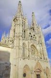 De Kathedraal van Burgos. Stock Foto's
