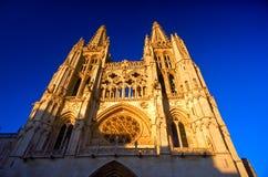 De kathedraal van Burgos Royalty-vrije Stock Foto
