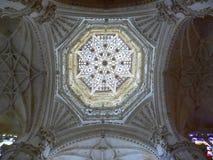 De kathedraal van Burgos, Spanje Stock Afbeeldingen