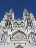 De kathedraal van Burgos, Spanje Stock Foto's