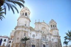 De kathedraal van Cadiz, Griekenland Royalty-vrije Stock Foto