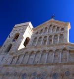 De Kathedraal van Cagliari stock afbeelding