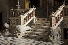 De Kathedraal van Cagliari Royalty-vrije Stock Foto's