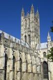 De Kathedraal van Canterbury Stock Afbeeldingen