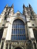 De Kathedraal van Canterbury Stock Foto's