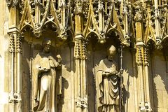 De Kathedraal van Canterbury, het UK Stock Foto
