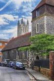 De Kathedraal van Canterbury in historisch Canterbury, Kent, Engeland Royalty-vrije Stock Fotografie