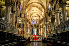 De Kathedraal van Canterbury, Kent, het Verenigd Koninkrijk Royalty-vrije Stock Afbeelding