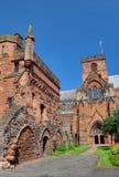De Kathedraal van Carlisle Stock Fotografie