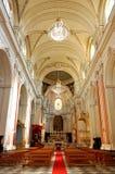 De Kathedraal van Catanië in Sicilië Stock Foto's