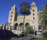 De kathedraal van Cefalu royalty-vrije stock foto's