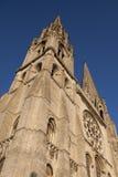 De Kathedraal van Chartres Royalty-vrije Stock Afbeeldingen