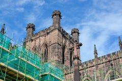 De kathedraal van Chester, het UK royalty-vrije stock foto's