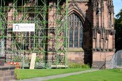 De kathedraal van Chester, het UK stock fotografie
