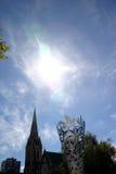 De Kathedraal van Christchurch Stock Foto's