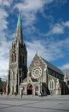 De Kathedraal van Christchurch Stock Afbeeldingen