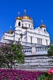 De kathedraal van Christus de Redder stock fotografie