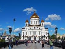 De kathedraal van Christus de Redder Royalty-vrije Stock Afbeeldingen