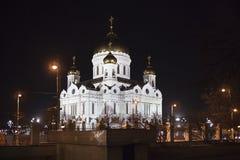 De kathedraal van Christus de Verlosser Stock Foto's