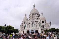 De kathedraal van Coeur van Sacre Stock Fotografie