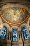 De kathedraal van Coeur van Sacre Stock Afbeeldingen