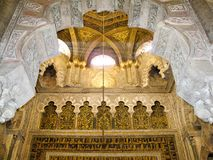 De kathedraal van Cordoba - Mezquita stock foto's