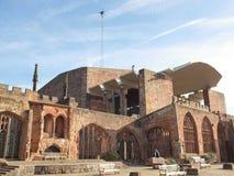 De Kathedraal van Coventry stock foto