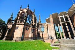 De kathedraal van Coventry stock foto's