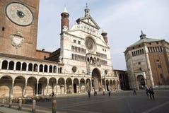 De Kathedraal van Cremona Stock Afbeelding